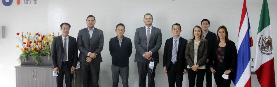 Embajador de Tailandia visita la Universidad Mondragón México